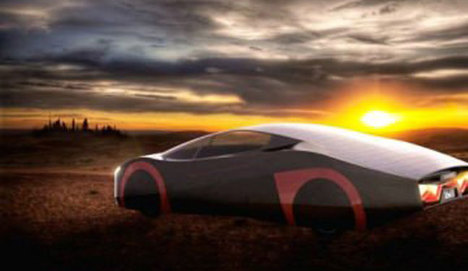 Hem güneş enerjili hem de elektrikli spor otomobil