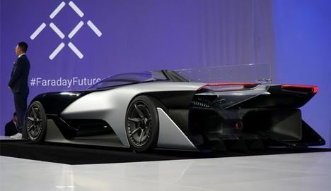1000 beygirlik elektrikli otomobil FFZERO1
