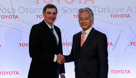 Toyota'dan Türkiye'ye büyük yatırım