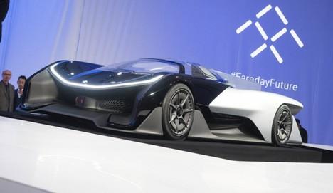 Tesla'ya yeni rakip: Faraday Future