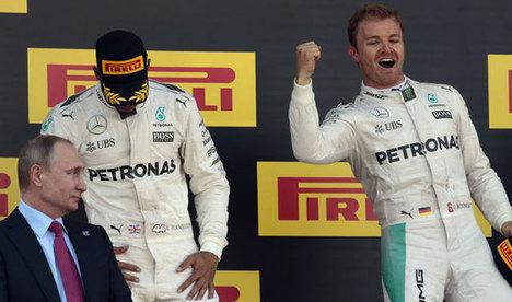 Rosberg'den üst üste 7. zafer